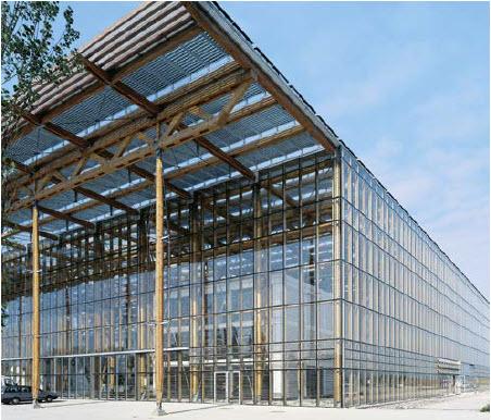 Façade aluminium - Ossature en bois | Wicona FRANCE