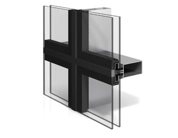 Structural glazing - structural aluminium facade | WICONA UK