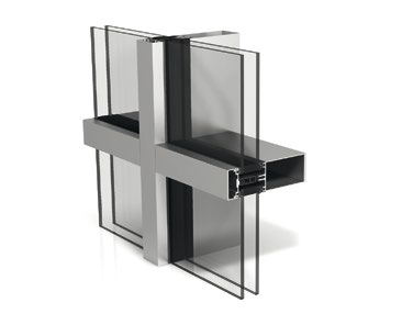 Stick System Curtain Wall 50mm Wicona De