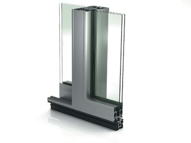 Energy-saving automatic sliding door