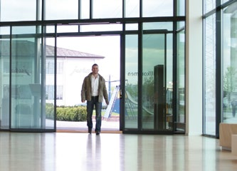 Automatic Sliding Door Reduced Energy Loss Wicona Uk