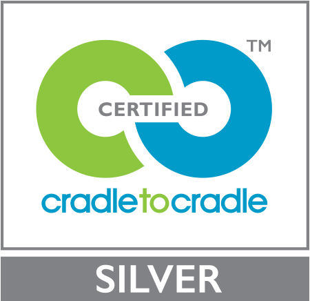 Logo certification Cradle to Cradle Silver WICONA