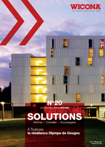 Couverture du Journal Solutions WICONA n°20