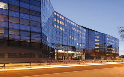 Façade aluminium et mur-rideau - Façade vitrée | Wicona FRANCE