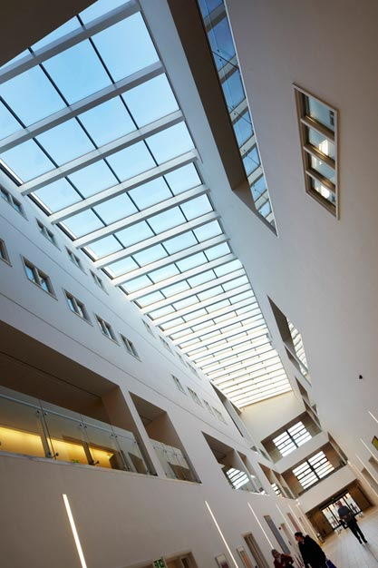 Roof Glazing Systems : Hartlepool college