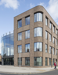 External shot of Hiscox, York 02 - WICONA Project
