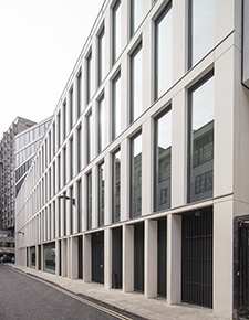 External shot of One Bedford Avenue, London 3 - WICONA Project