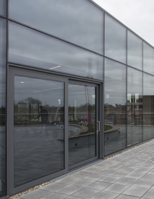 External shot of Hiscox, York 05 - WICONA Project